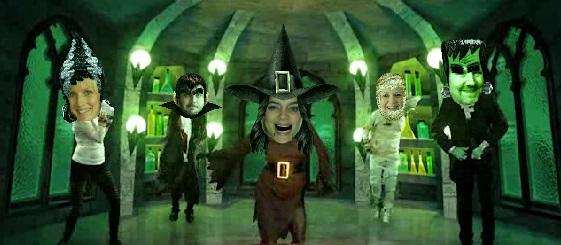 Vi rockar Halloween