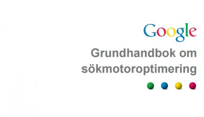 Googles grundhandbok om sökmotoroptimering