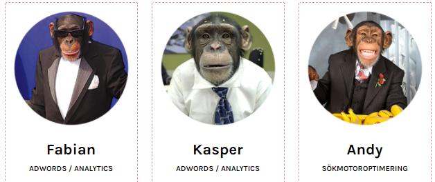 Teveo och deras apor