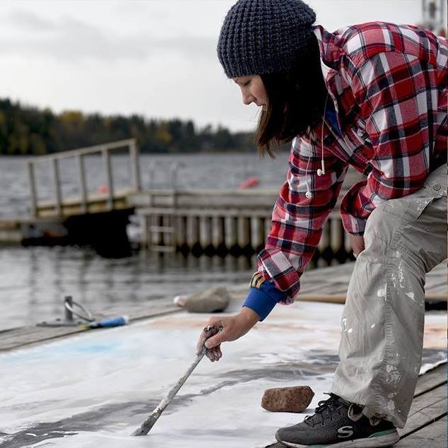 Linda Lundin - konstnär från Örnskölsdvik