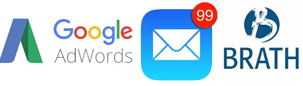 Adwords, email och SEO - försäljningskanaler