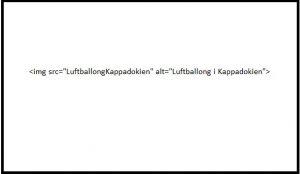 Exempel på ALT-text