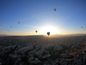 Luftballong i Kappadokien