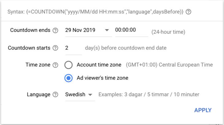 tidsinställning_för_google_annons_med_nedräkningsfunktion