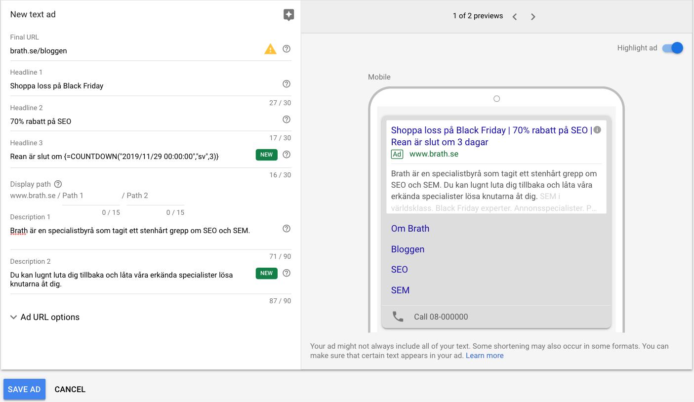 förhandsgranskning_av_google_annons_med_nedräkningsfunktion