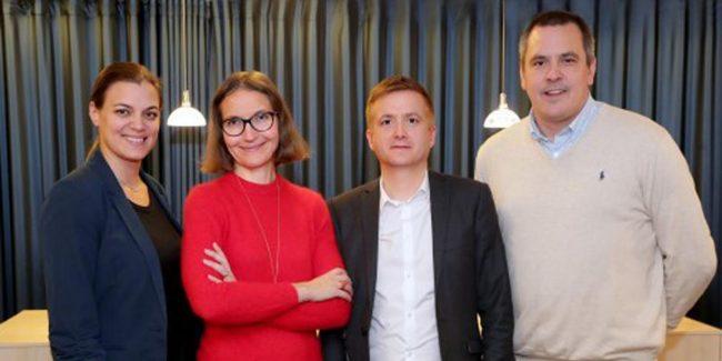 Maria Bråth, Ann Henriksson, Pontus Haraldsson och Magnus Bråth