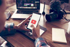 Youtube på en mobil