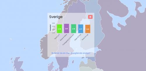 SEOkartan.se en analys av konkurrensen för SEO på olika marknader och i olika segment